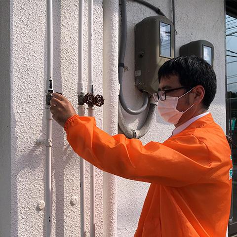 給排水管のチェック